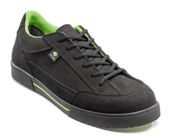 Ocuts fiber black safety shoe